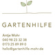 Gartenhilfe von Antje Mohr