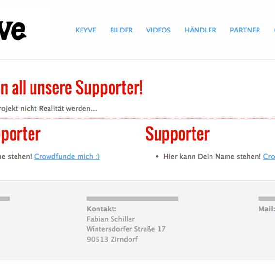 Keyve - Danke-Galerie