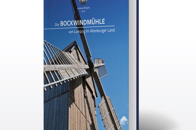 Die Bockwindmühle von Lumpzig im Altenburger Land