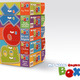 Dein Name als Sponsor auf den Boxen und 5 x my little English BOX: Alle Themen + 1 T-Shirt + 2 Quartette