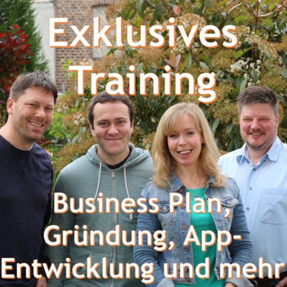 Exklusives Start-up Training