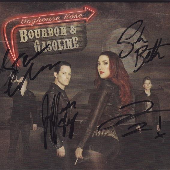 Doghouse Rose - CD signiert