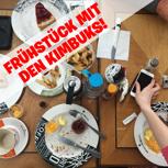 Frühstücken mit dem KIMBUK-Team