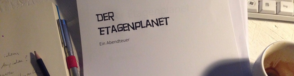 """Buchveröffentlichung """"Der Etagenplanet"""""""