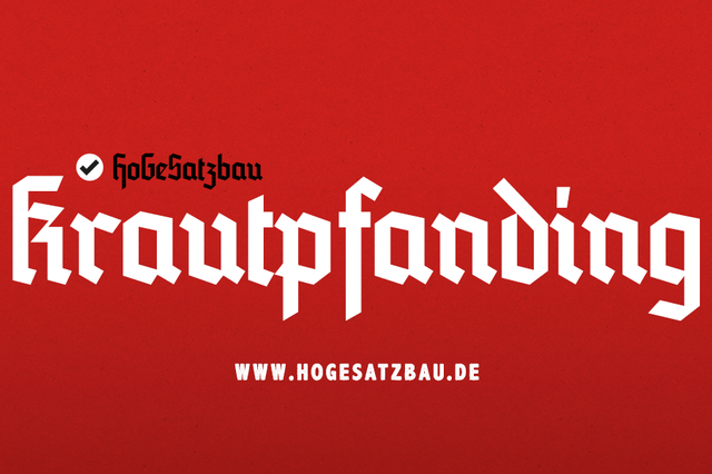 HoGeSatzbau – Krautpfanding