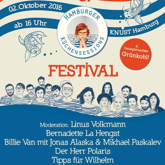Gästelisten-Platz für das 5. Hamburger Küchensessions Festival