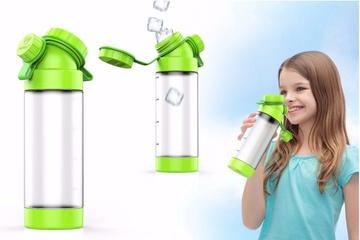 JuNiki´s Double Neck: Die Trinkflasche für Kinder