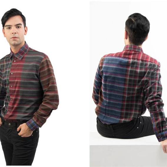 mens shirt | checked 2 |