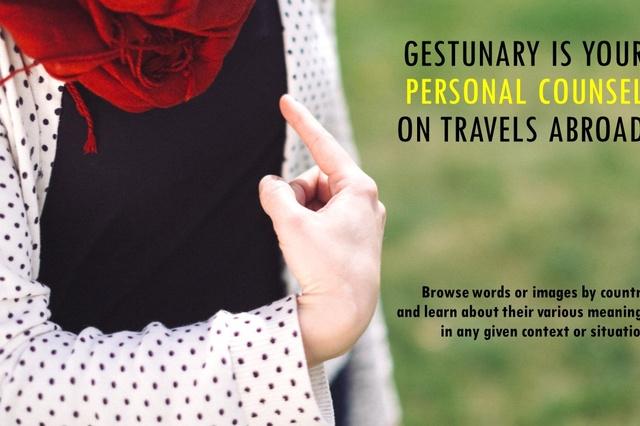 Das erste persönliche Gestikwörterbuch Gestunary