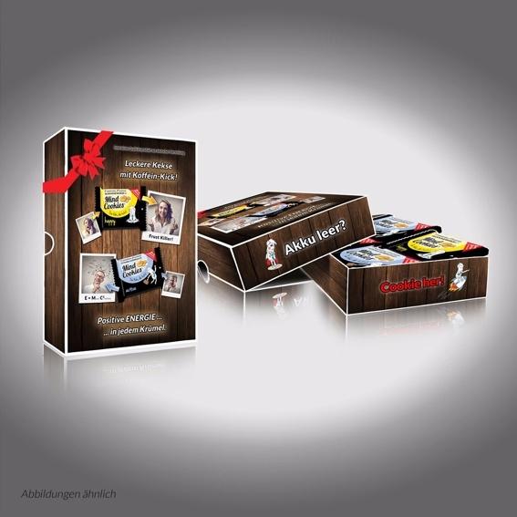 8 Kekse in der neuen Geschenkebox