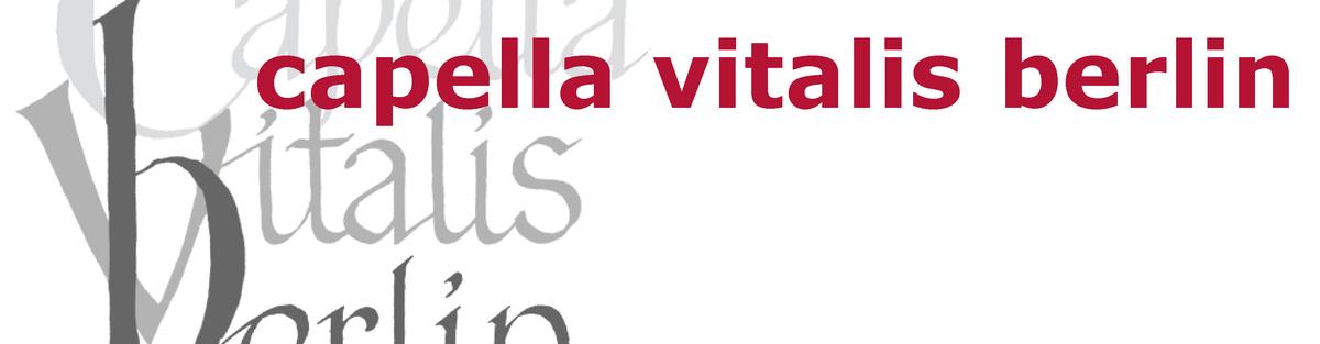 CD: capella vitalis berlin, Encaenia Musices von Romanus Weichlein