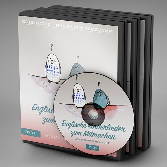 DVD-Set (alle 3 DVDs inkl. Handbücher)