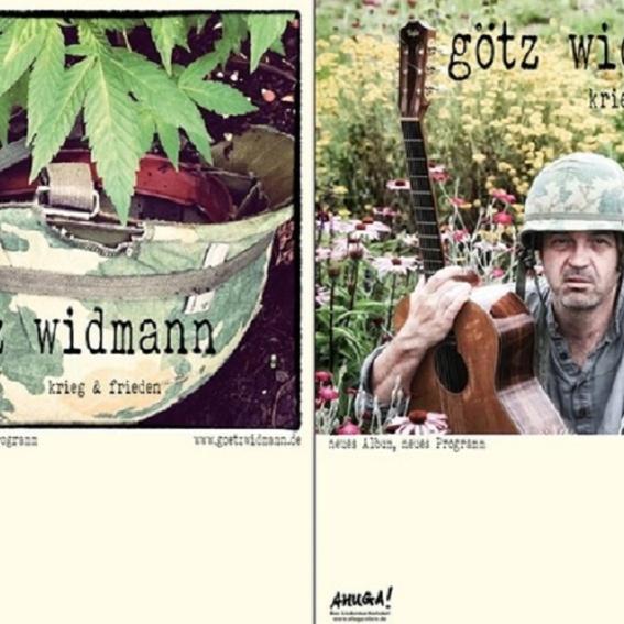 Götz Widmann - Krieg & Frieden (handsigniert) - 2.Welle