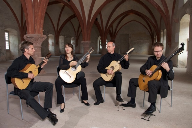 CD Barrios Guitar Quartet: TEMPI MODERNI