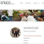 Dein Name auf unserer Website