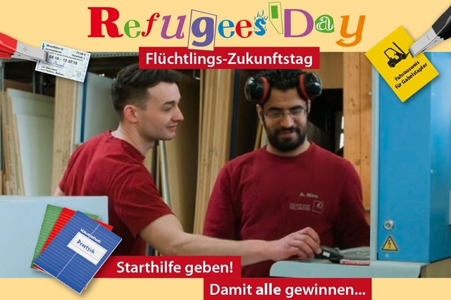 Refugees' Day – Flüchtlings-Zukunftstag