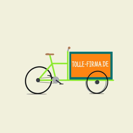 1 Jahr Gratis Werbefläche für Firmen auf der Transportkiste