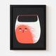 """Siebdruck """"Taschenmonster"""" (von Zubinski) + POLLE #1"""
