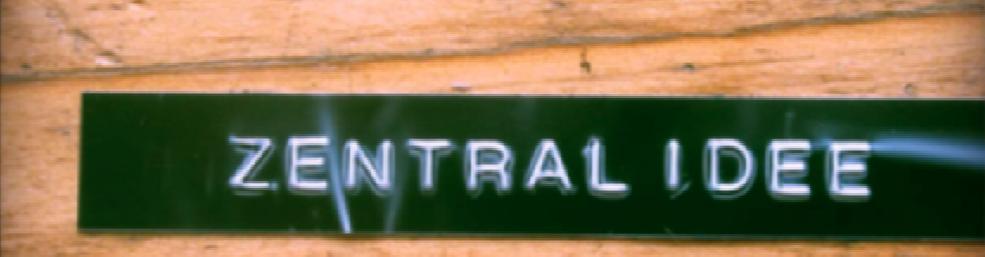 Zentralidee - Unser Raum soll schöner werden