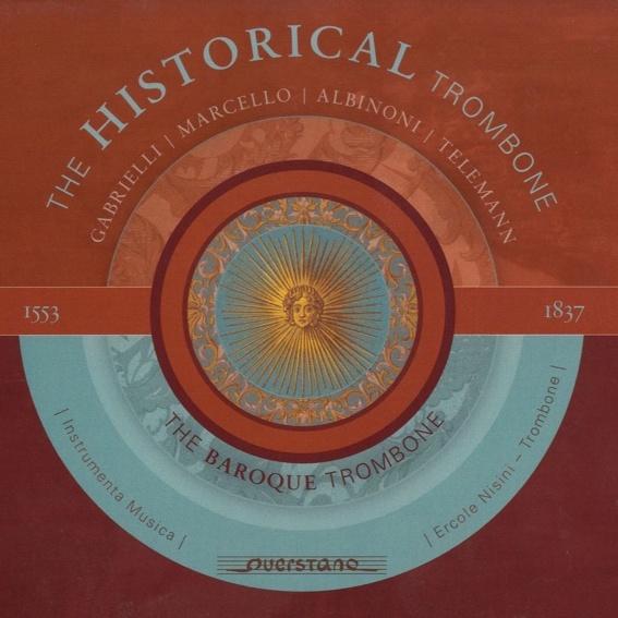 """Originale CD """"The Baroque Trombone"""""""