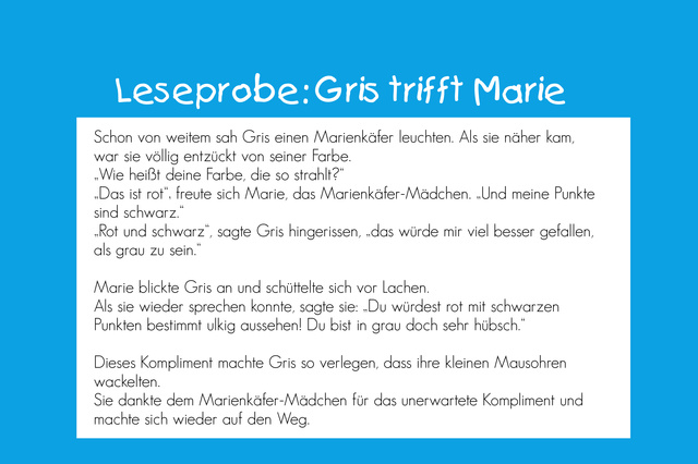 """Gris will anders sein"