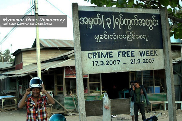 Myanmar Goes Democrazy