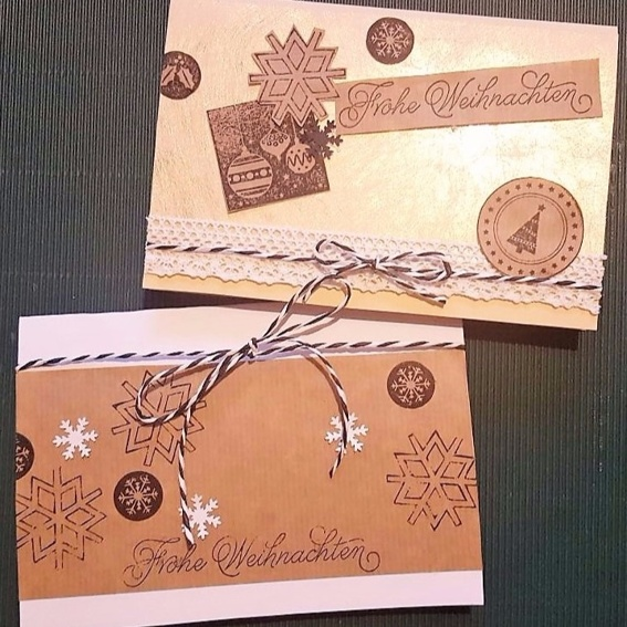6 Weihnachtskarten
