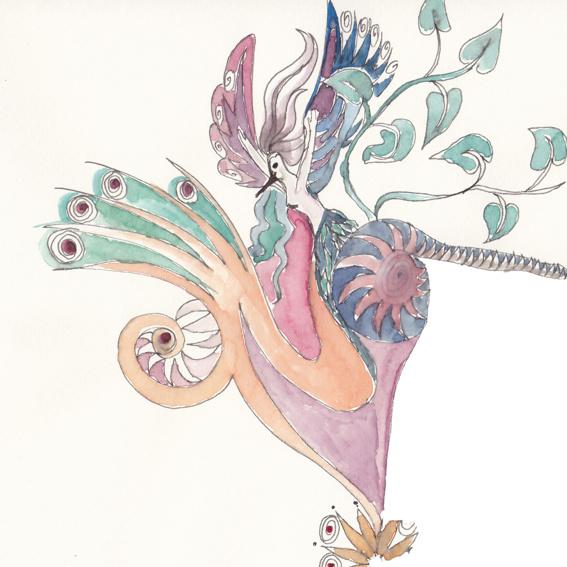1 Album & ein Aquarell