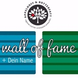 Dein Name auf der Small Wall Of Fame