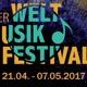 Karte für das Weltmusikfestival