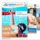 1/2 Seite in der swimsportMagazine Olympia-Ausgabe