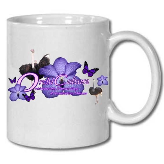 Tasse mit unserem Logo als Dankeschön