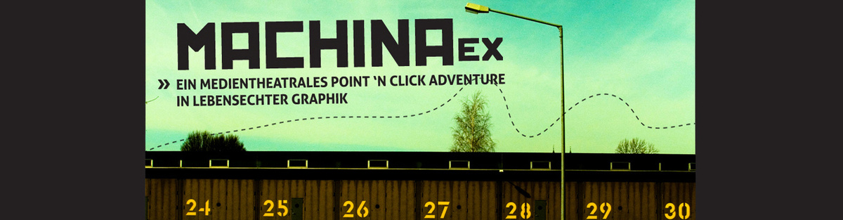 machina eX: 20min - ein theatrales Point and Click Adventure