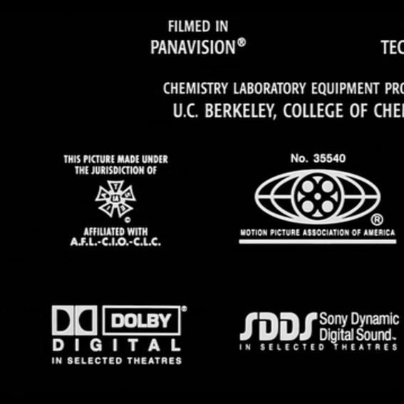 Film-Bundle/ Logo im Abspann
