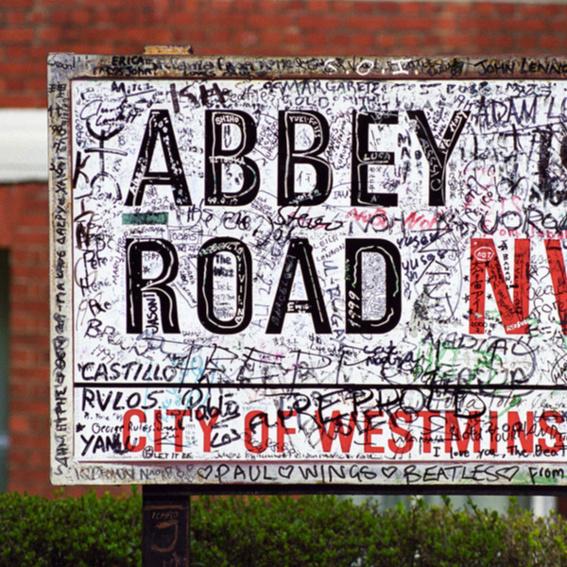 Postkarte aus Abbey Road!