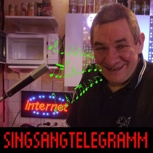 PERSÖNLICHES SINGSANG-TELEGRAMM
