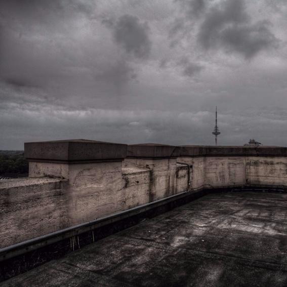Brunch auf dem Bunkerdach