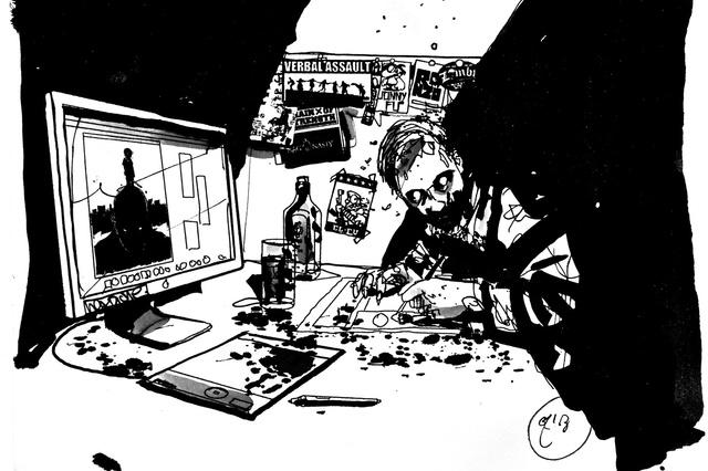 Zombie International - Animated iPad Comic