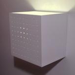 Wand-/Tischlampe, weiß