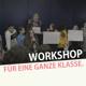 Kostenloser Workshop für 30 Schüler/innen.