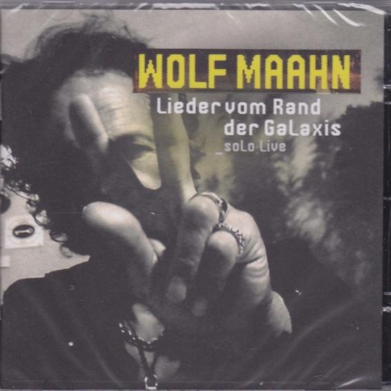 Wolf Maahn - Lieder am Rand der Galaxie - CD