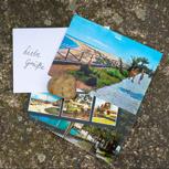 Sonnige Postkarten-Grüße