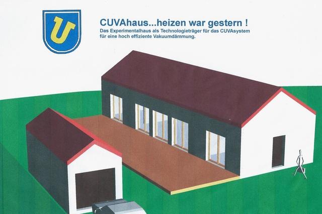 CUVAhaus - hoch gedämmtes Bauen mit Vakuum