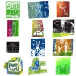 Postkarten-Set mit »Auerworld Feeling«