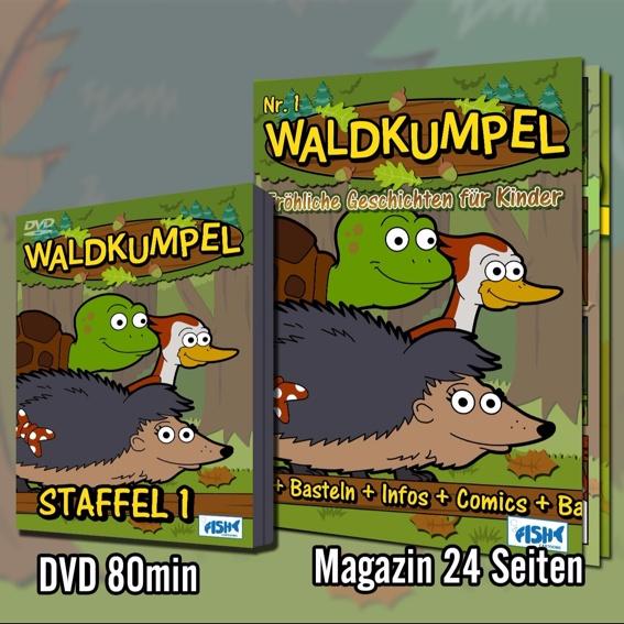 Basis Paket DVD + Magazin