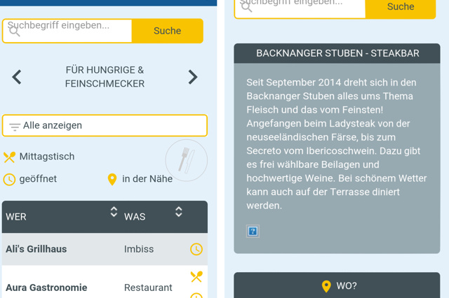 MeinBacknang.de - die WebApp von & für Backnanger