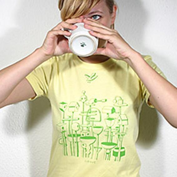 The Whitest Boy Alive T-Shirt - Women S (Selbstabholer)