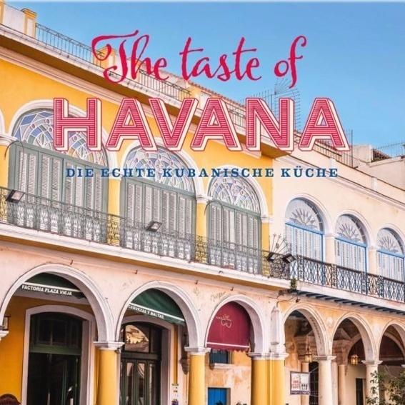"""Signiertes Buch """"The Taste of Havana"""""""