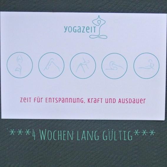 5-er Karte Yoga (zeitlich begrenzt)