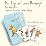Loni macht für Dich Werbung! – ¡Tu logo puede estar en la web de Loni!